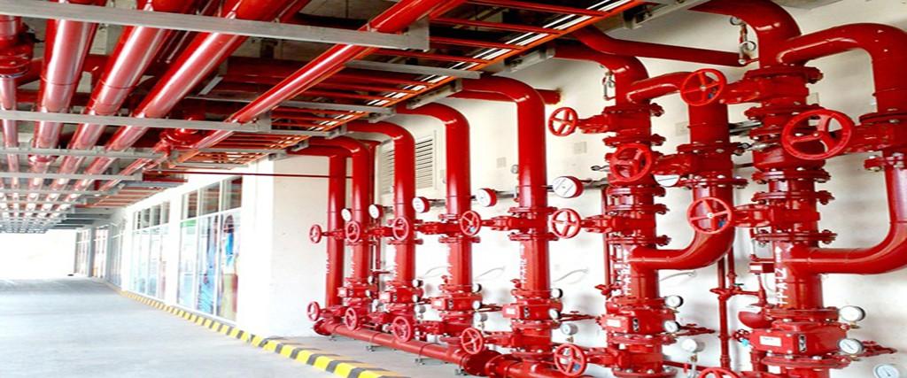 اجرای سیستم آتشنشانی ساختمان(اطفا حریق)